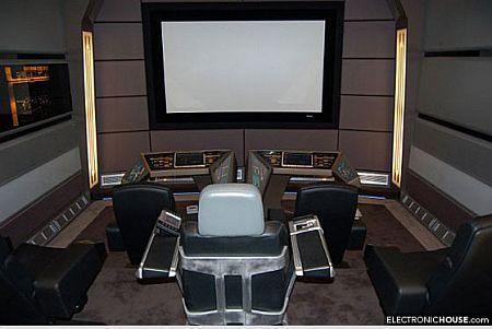 Salle Home Salle Home Cinéma Star Trek