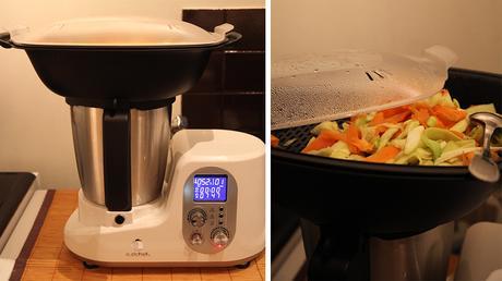 recette de poulet au curry avec le robot cuiseur. Black Bedroom Furniture Sets. Home Design Ideas