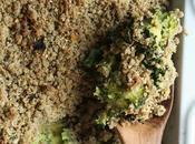 Crumble légumes farine teff (vegan, sans gluten)