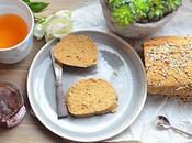 Pain Vegan sans gluten, riz, maïs... bonheur simple