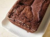 Cake chocolat, poires amandes