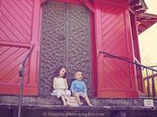 Photographe famille Germain laye séance photo bébé extérieur