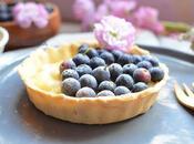 Tartelettes bleuets/myrtilles sans gluten baobab