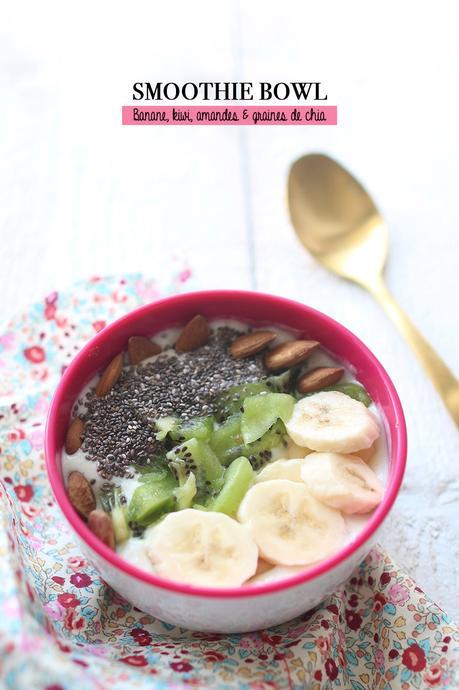 Smoothie bowl banane – kiwi
