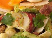 Salade fraicheur oeuf mollet