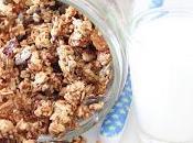 Granola santé sans sucre ajouté