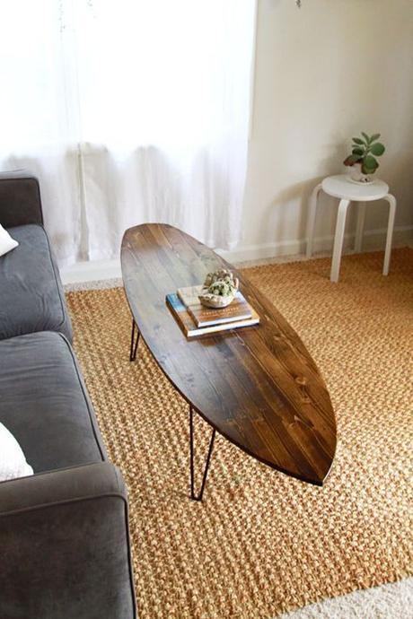 10 Id Es Originales Pour Recycler Sa Planche De Surf Usag E Paperblog