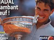 Tennis Pénétration Nadal
