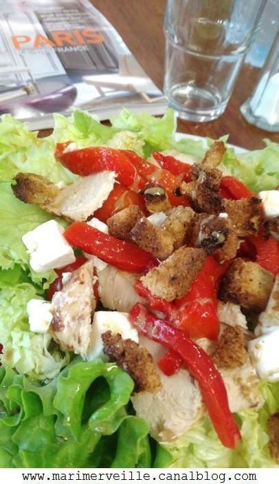 Une petite salade chez tea lichou paris - marimerveille