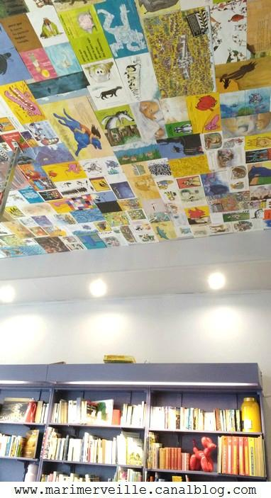 plafond salon de thé tea lichou - marimerveille