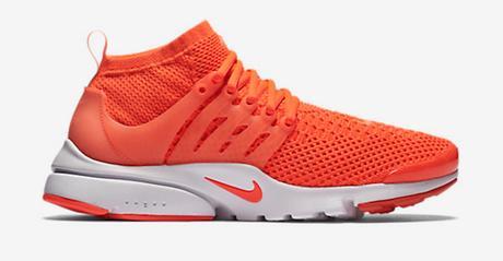 Presto Nike Orange Fluo