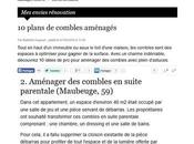 projet dans CôtéMaison.fr