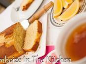 Cake citron, cardamone graines pavot