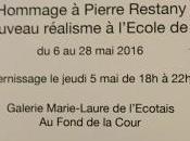 Galerie Marie-Laure l'ECOTAIS exposition Hommage Pierre RESTANY Frédéric ALTMANN