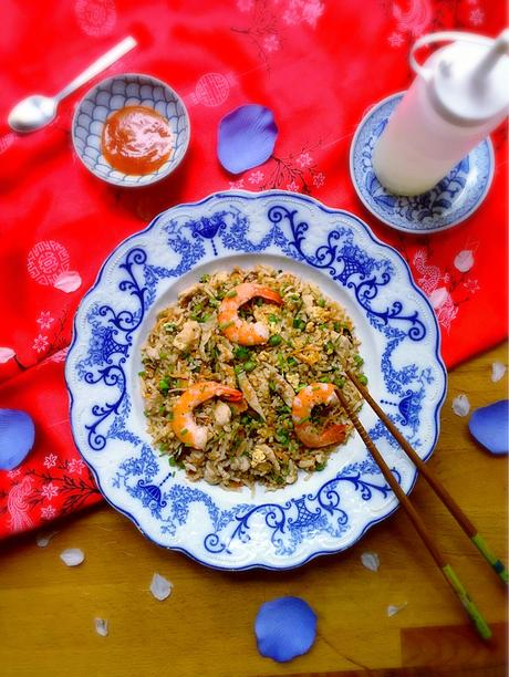 riz frit riz cantonais de l le maurice bien meilleur que chez l asiate accompagn d une. Black Bedroom Furniture Sets. Home Design Ideas