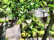 Week-end jardin #DIY guirlande fanions pour