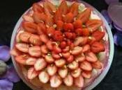 Dacquoise pistache fraises pour fête mères