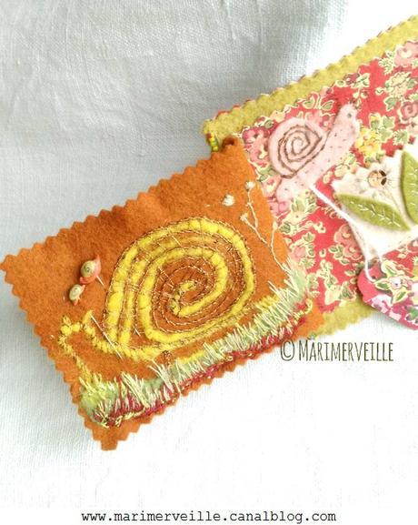 Carnet couture balade aux escargots 5 ©Marimerveille créations
