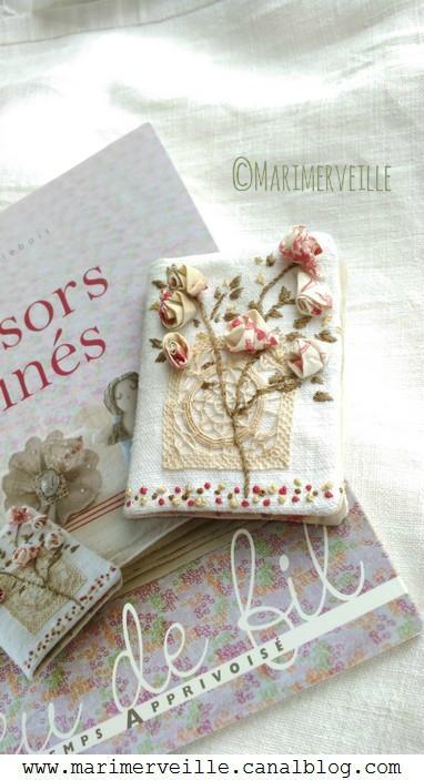 carnet couture marimerveille pour livre trésors chinés