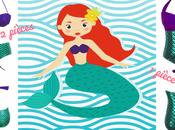 Pour pinups-sirènes uniquement craquez pour maillot Ariel