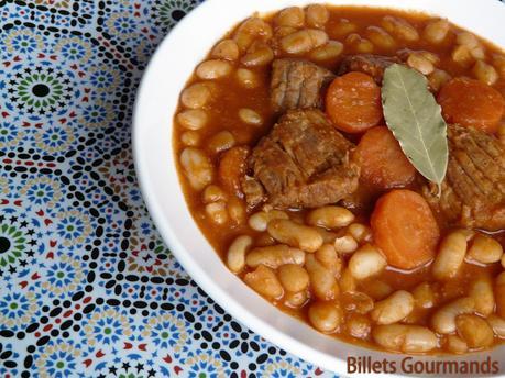 Loubia, haricots blancs à la marocaine  Passetempscuisine