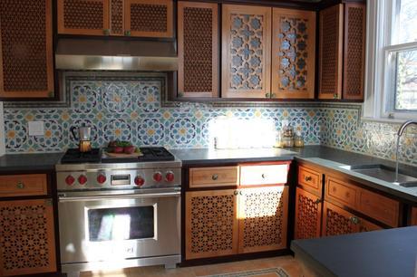decoration cuisine marocaine 2013