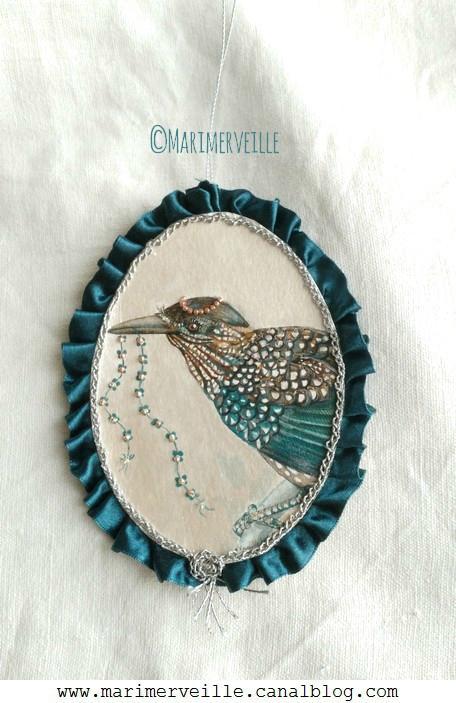 Médaillon Marimerveille Conte d'oiseau N°14
