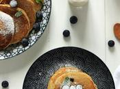 pancakes fluffy myrtilles d'Ophélie