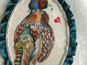 Médaillon Conte d'oiseau N°15