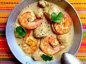 Curry poulet crevettes lait coco, recette fait voyager {#LBGCOOKINGBATTLE}