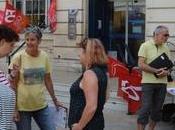 Rochelle grève postiers poursuit lundi