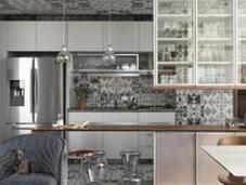 carreaux céramique plafond dans cuisine