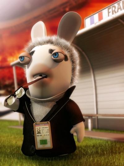D di aux fans des lapins cr tins - Lapin cretin image ...