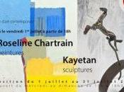 Exposition Roseline Chartrain Kayetan Sawicki Borie Arts Villefranche Rouergue