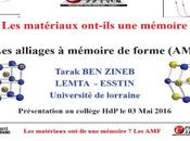 Intervention Monsieur Zineb collège Haut Penoy Vandœuvre Nancy 03/05/2016
