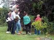 Visites groupe dégustation jardin