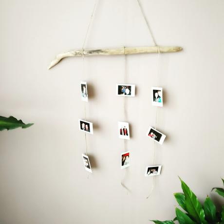 diy decoration porte photo mural voir