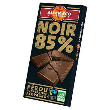 bienfait chocolat 85