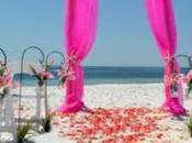 combinaisons couleurs pour belle cérémonie mariage thème mer.