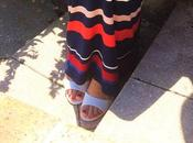 Look Mode French long dress