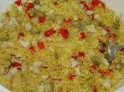 Taboulé poulet citron confit
