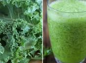 Recette Smoothie vert Chou Kale