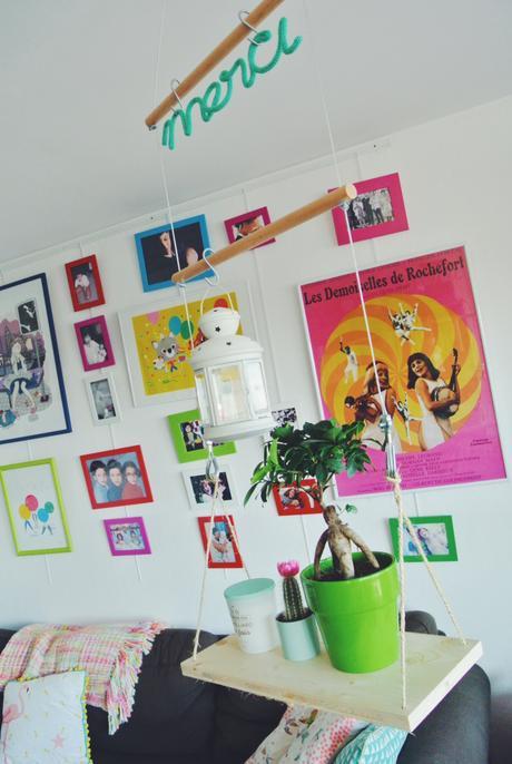 etag re suspendue diy paperblog. Black Bedroom Furniture Sets. Home Design Ideas