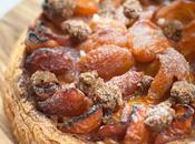 Gourmandise/Food tarte abricots pâtisserie Rêves