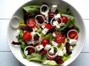 Salade feta ventrêche croustillante