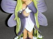 Petite elfe papillon porcelaine froide