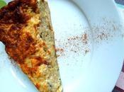 Quiche sans pâte courgette thon