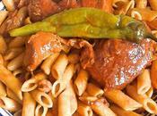 Pâtes Tunisienne sauce piquante