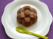 gâteau cacaoté avec LINEAVI psyllium (diététique, hyperprotéiné, sans gluten oeuf beurre sucre, riche fibres)