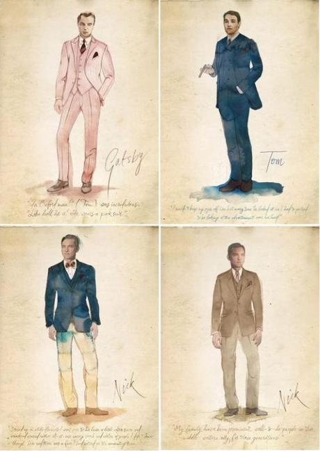 les costumes du film gatsby le magnifique paperblog. Black Bedroom Furniture Sets. Home Design Ideas
